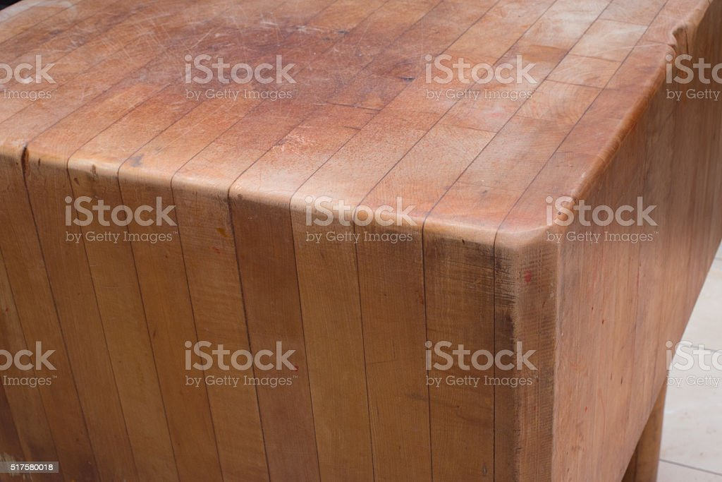 Cutting board butcher block stock photo