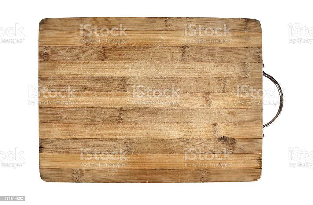 Cutting Board +Clipping Path (Click for more) stock photo