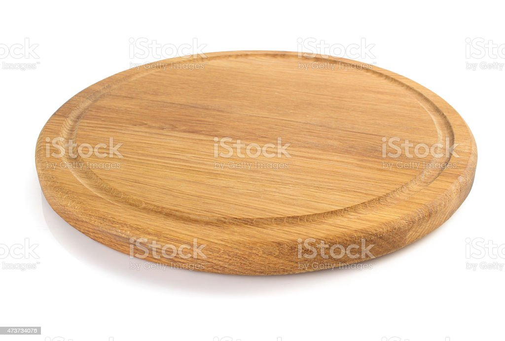 cutting board on white stock photo