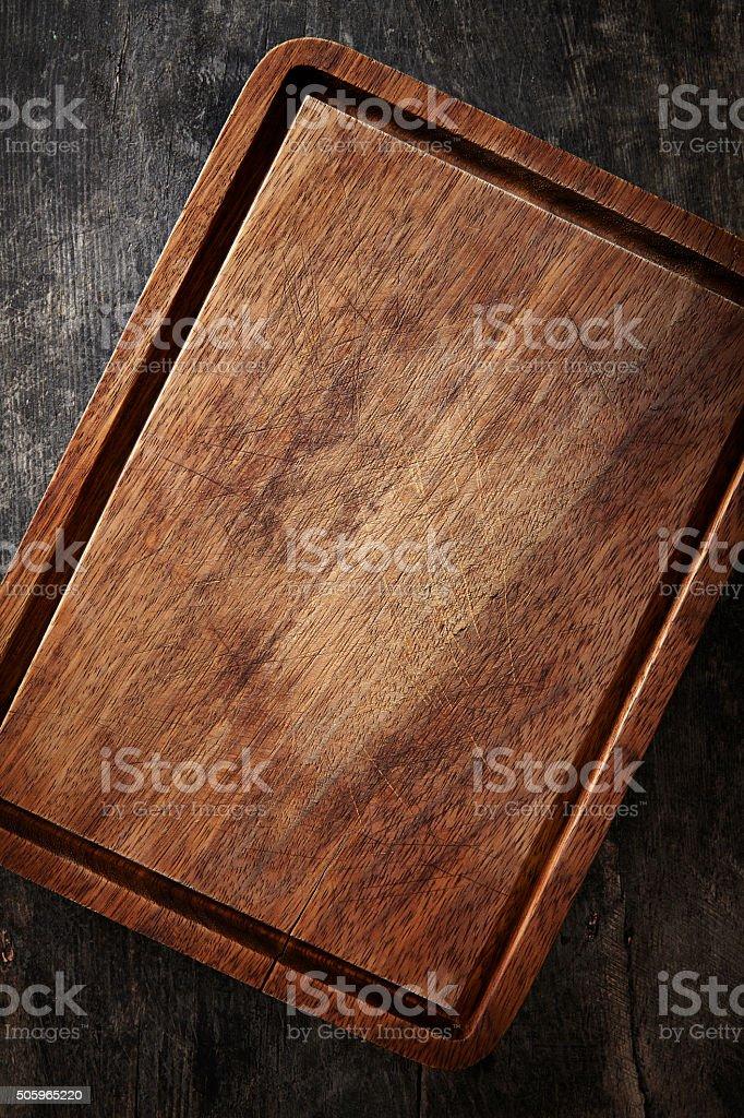 Cutting board stock photo