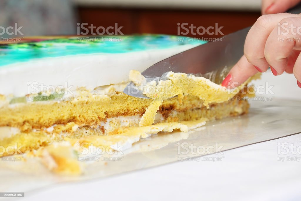 cutting edge stock photo