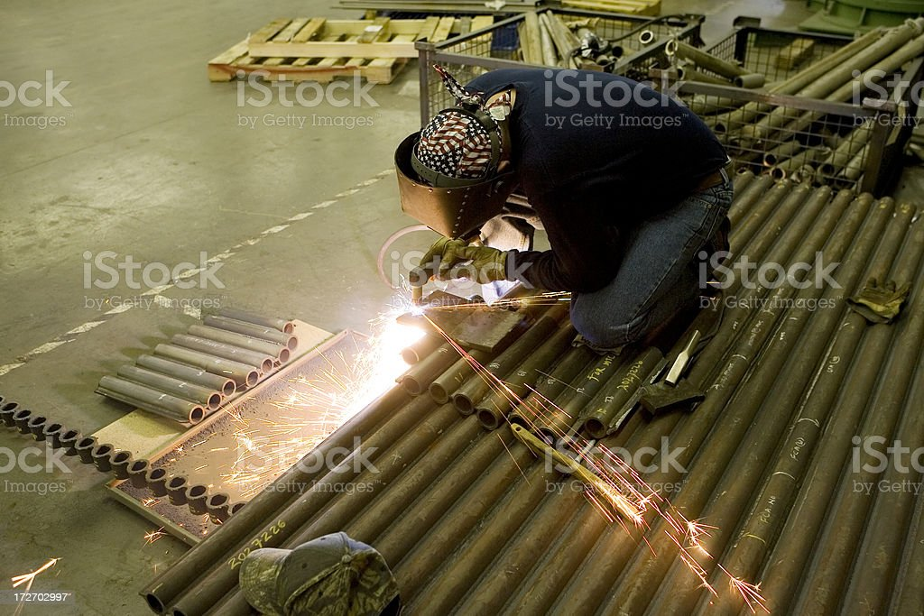 Cutting Steel royalty-free stock photo