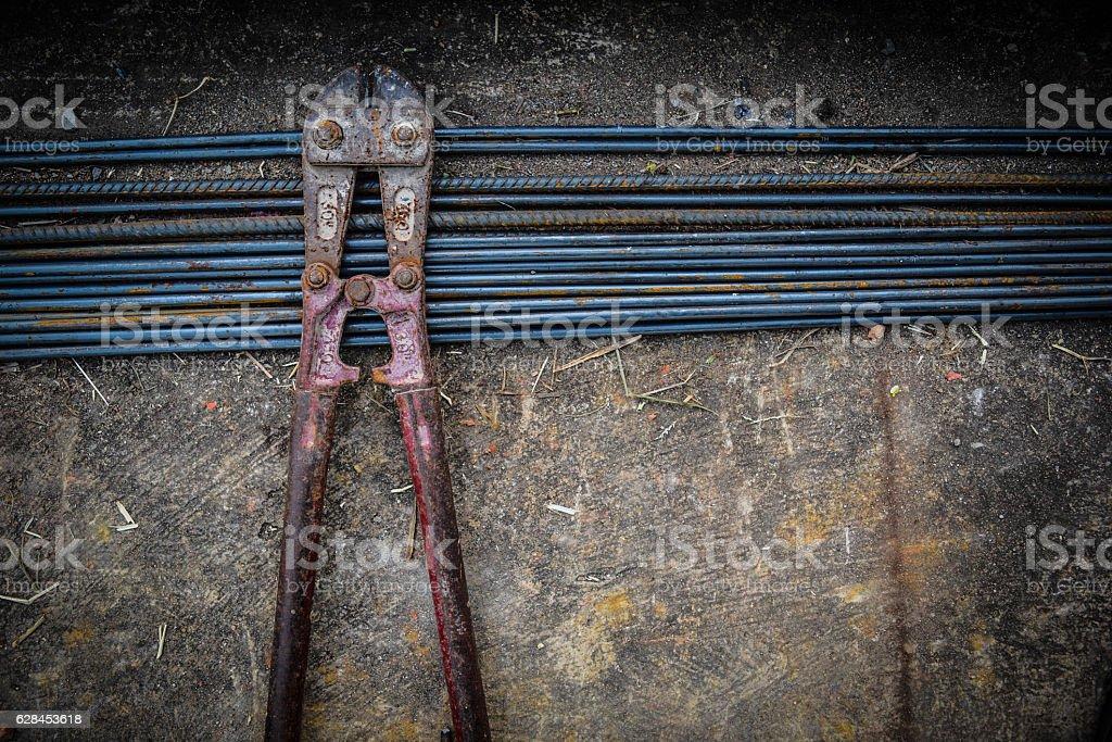 Cutting tools stock photo