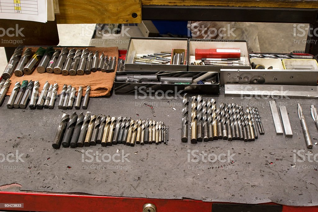 Cutting Tools stock photo