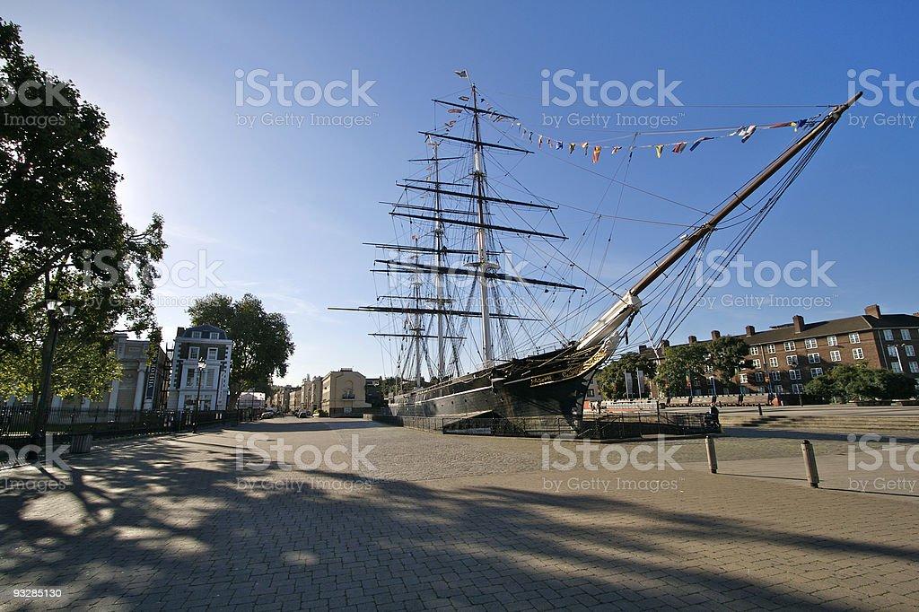 Cutty Sark, Greenwich stock photo