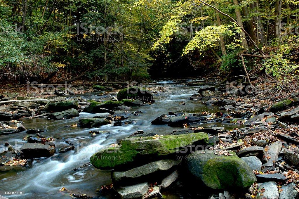 Cuyahoga River stock photo