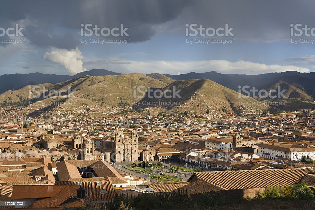 Cuzco Afternoon royalty-free stock photo