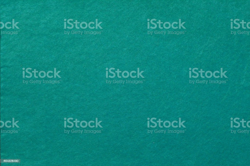 cyan felt background stock photo