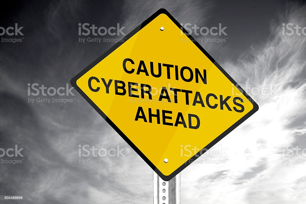 Cyber Attack stock photo