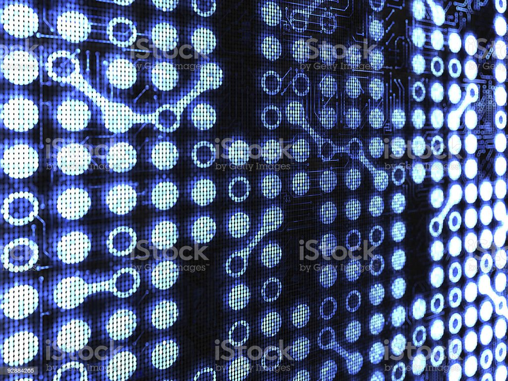 Cyber background royalty-free stock vector art