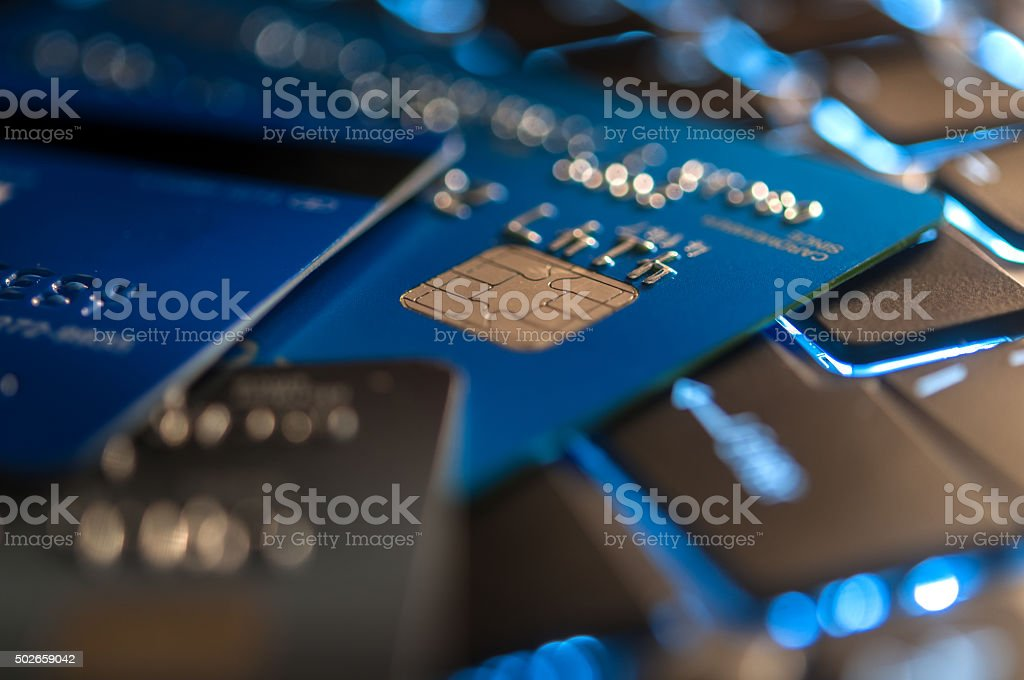 Cyber bussiness stock photo