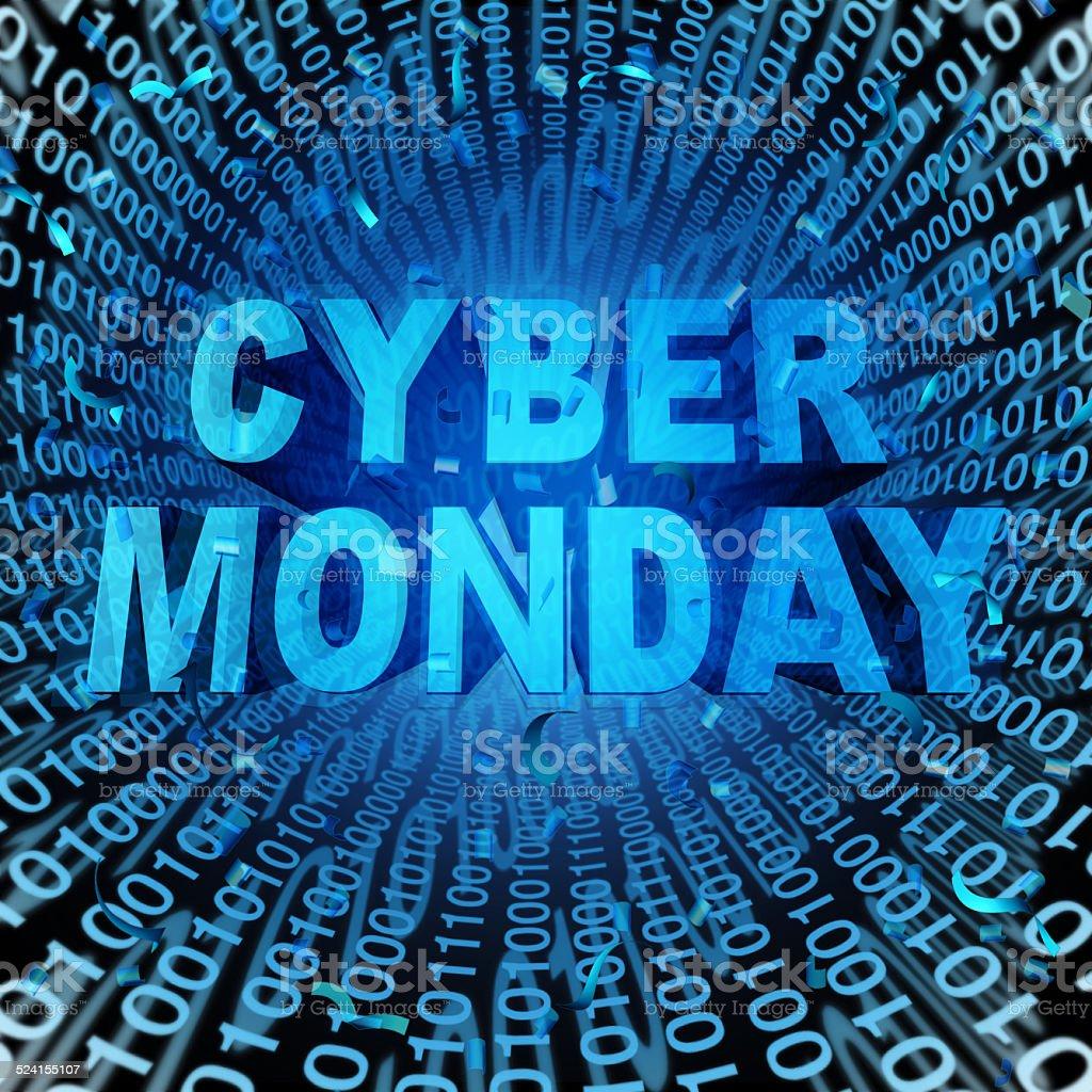 Cyber Monday stock photo