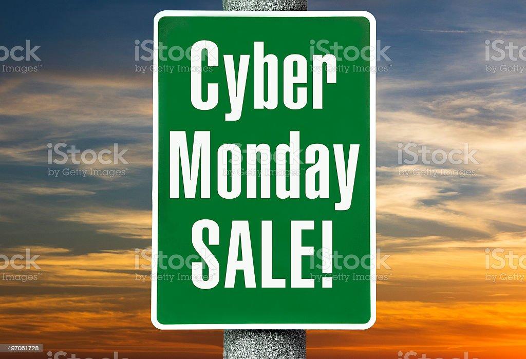 Cyber Monday Sale stock photo