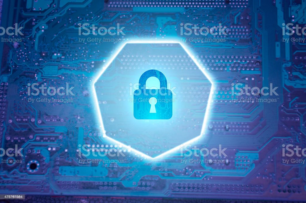 Cyber Security stock photo