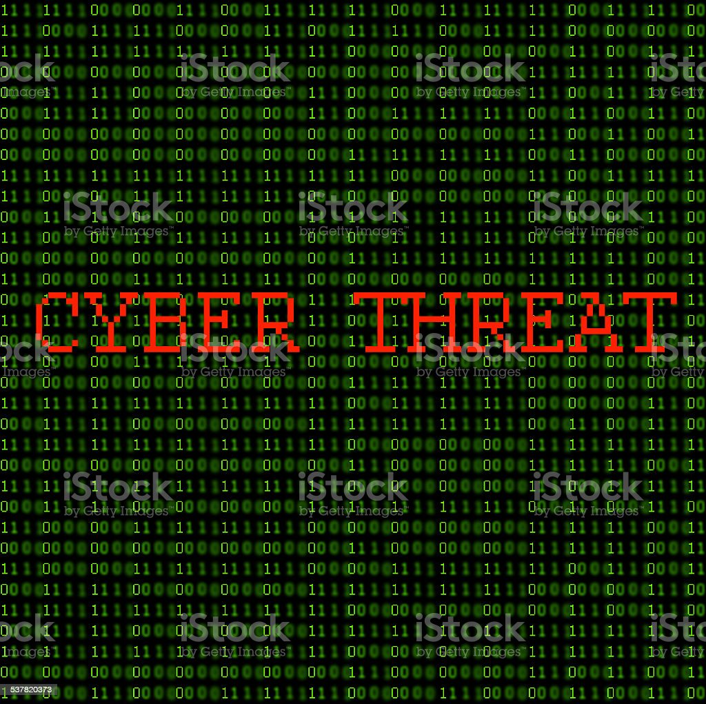 Cyber Threat stock photo