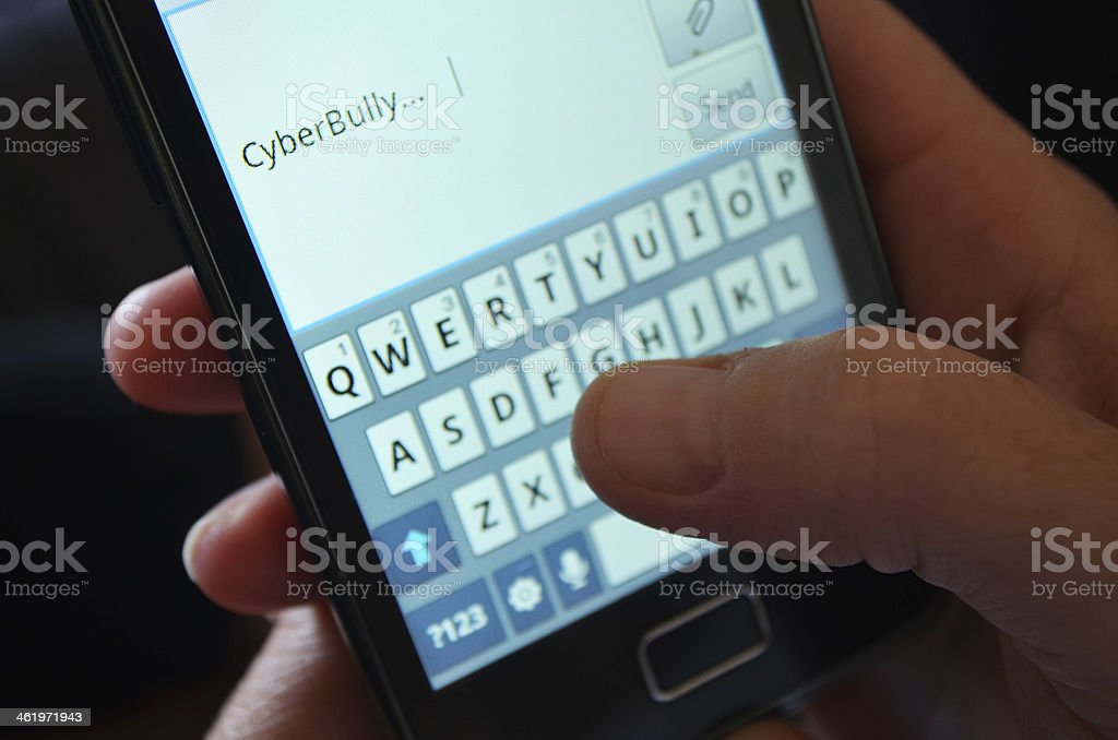 CyberBullying stock photo
