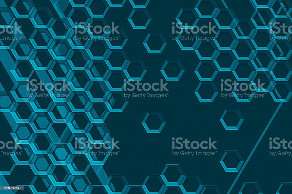 Cybercells stock photo