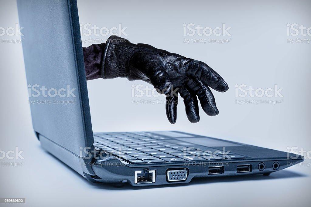 Cybercrime Concept stock photo