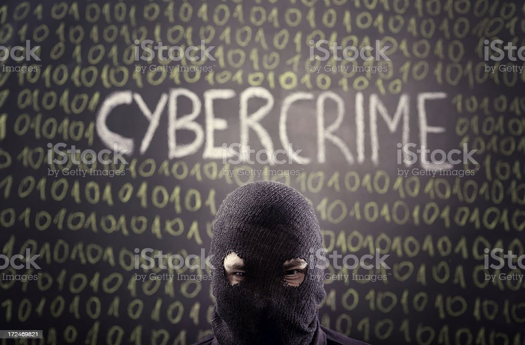 Cybercrime royalty-free stock photo