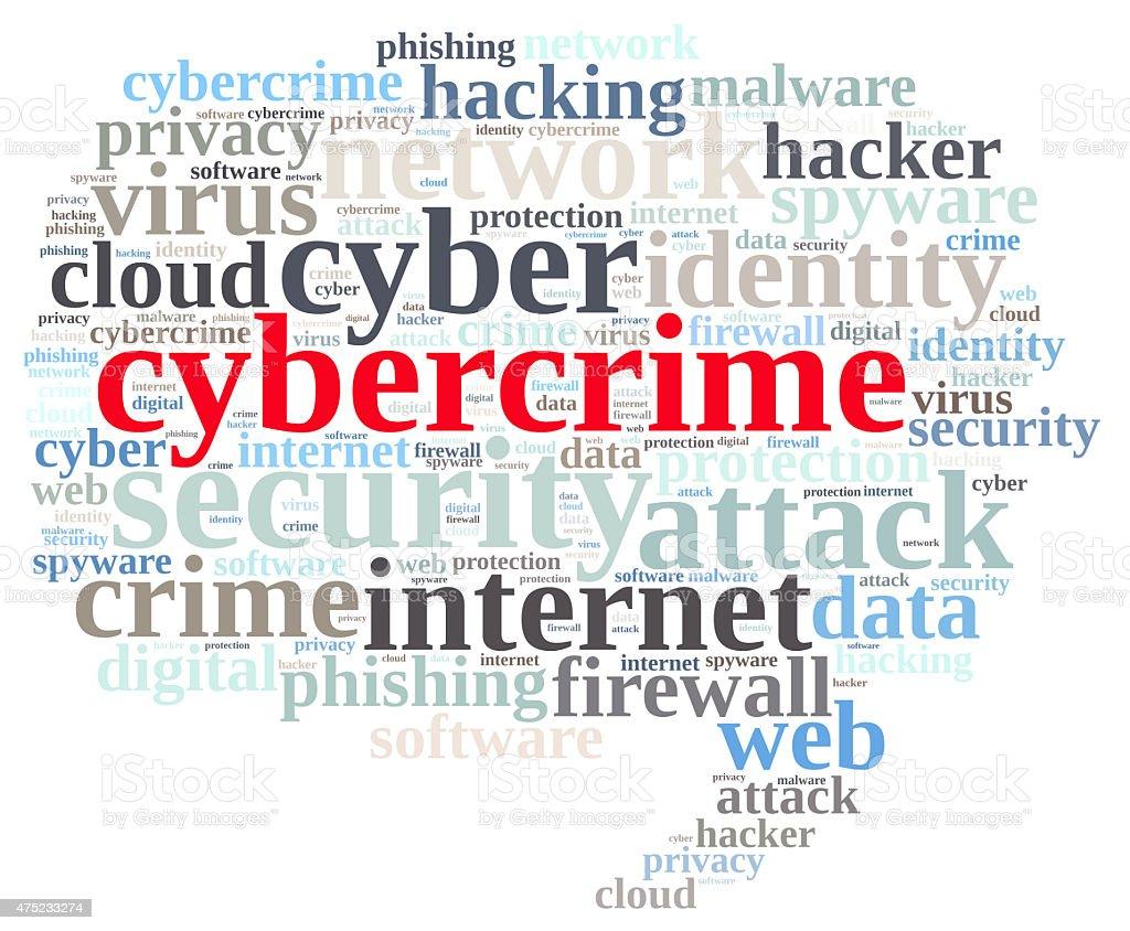 Cybercrime. stock photo