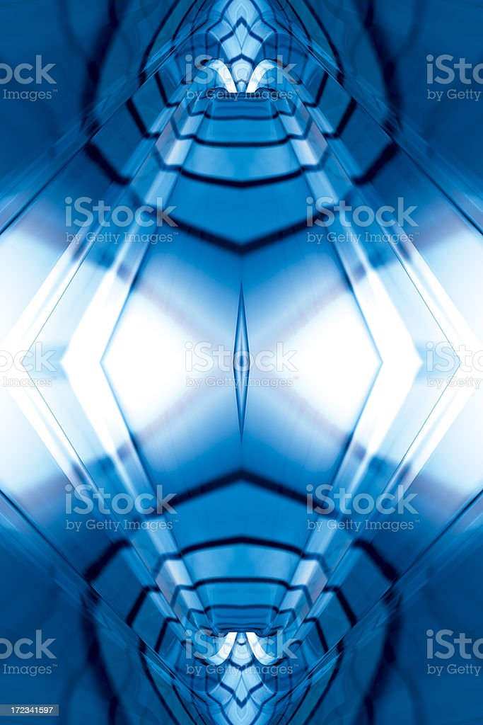 CyberFractalFour royalty-free stock photo