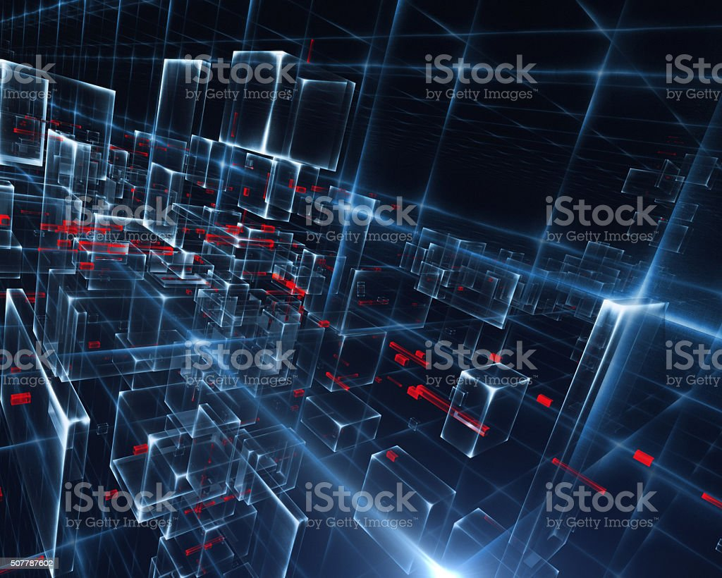 Cyberspace Concept stock photo