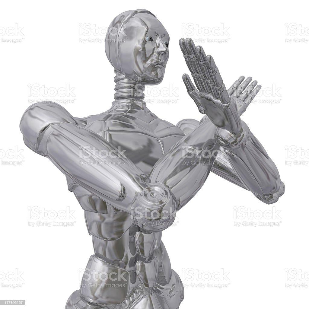 Cyborg. stock photo