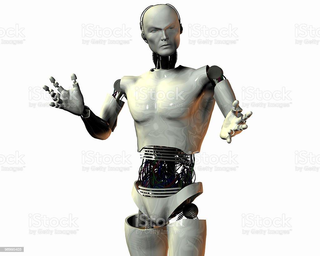 cyborg royalty-free stock photo