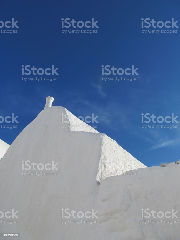 Cycladic Simplicity stock photo