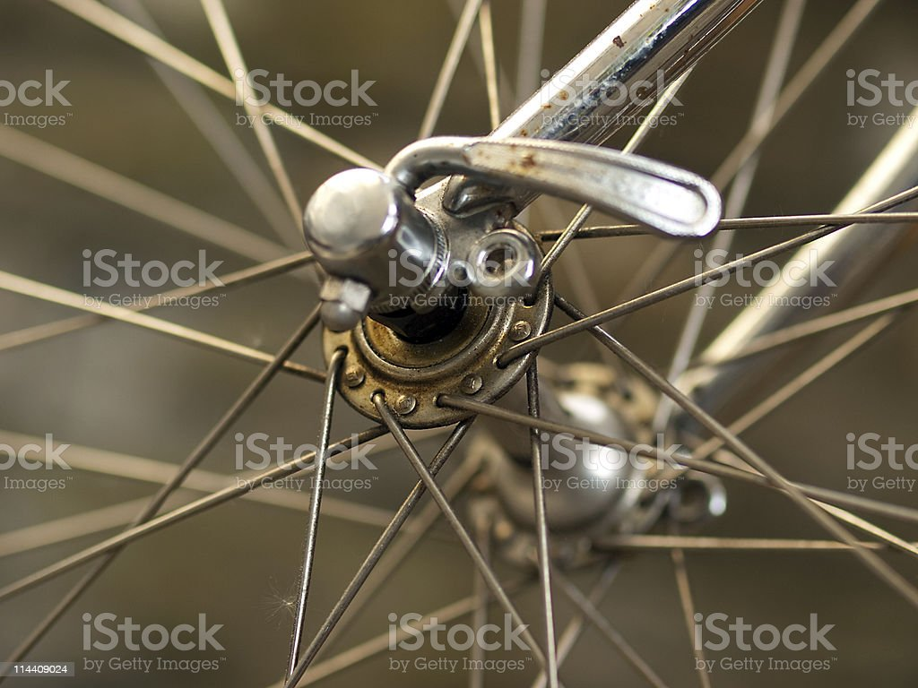 Cycle detail stock photo