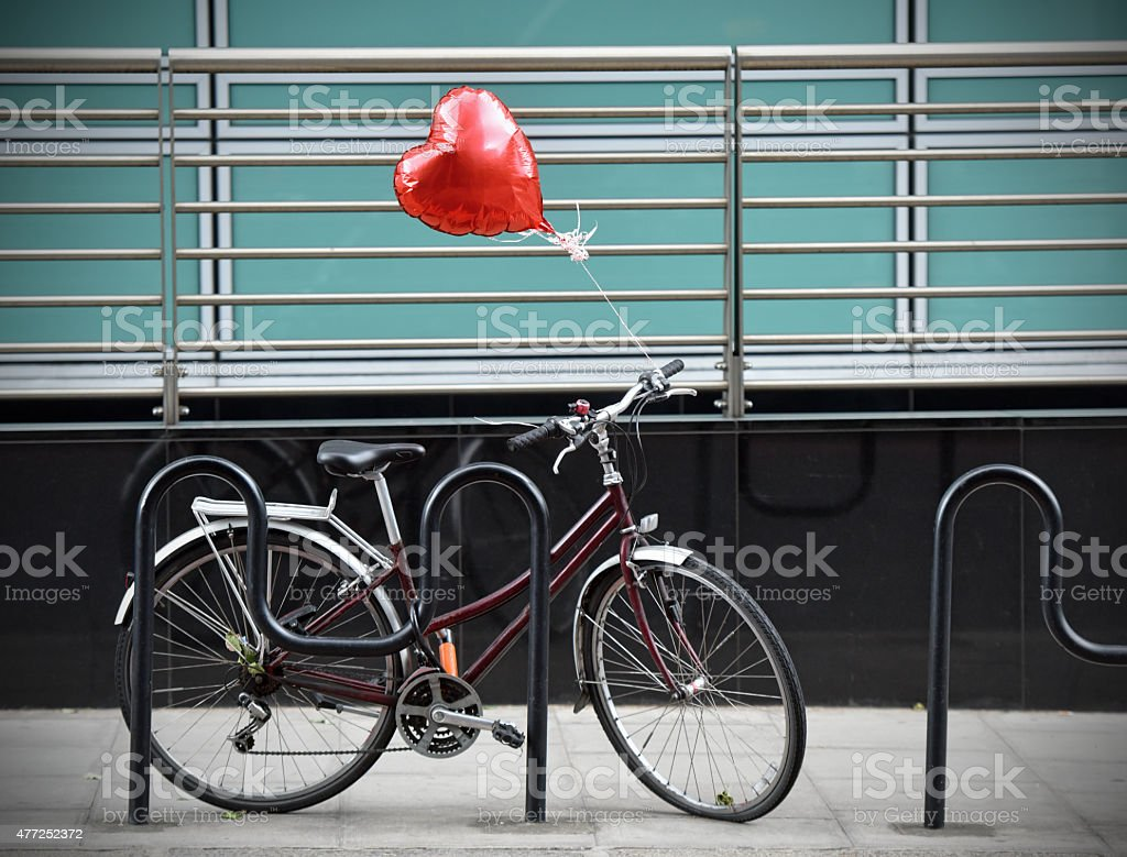 Cycle Love stock photo