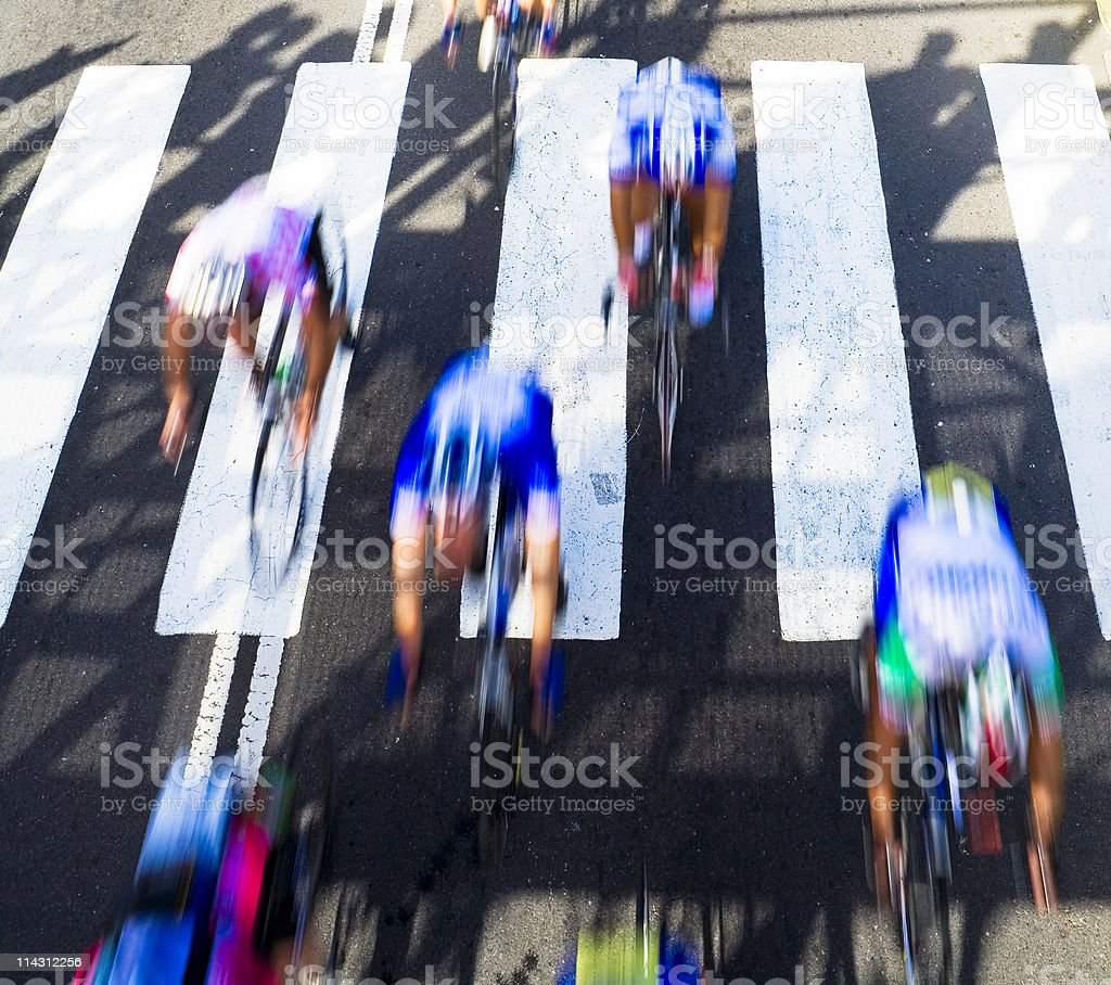 Cycle race royalty-free stock photo