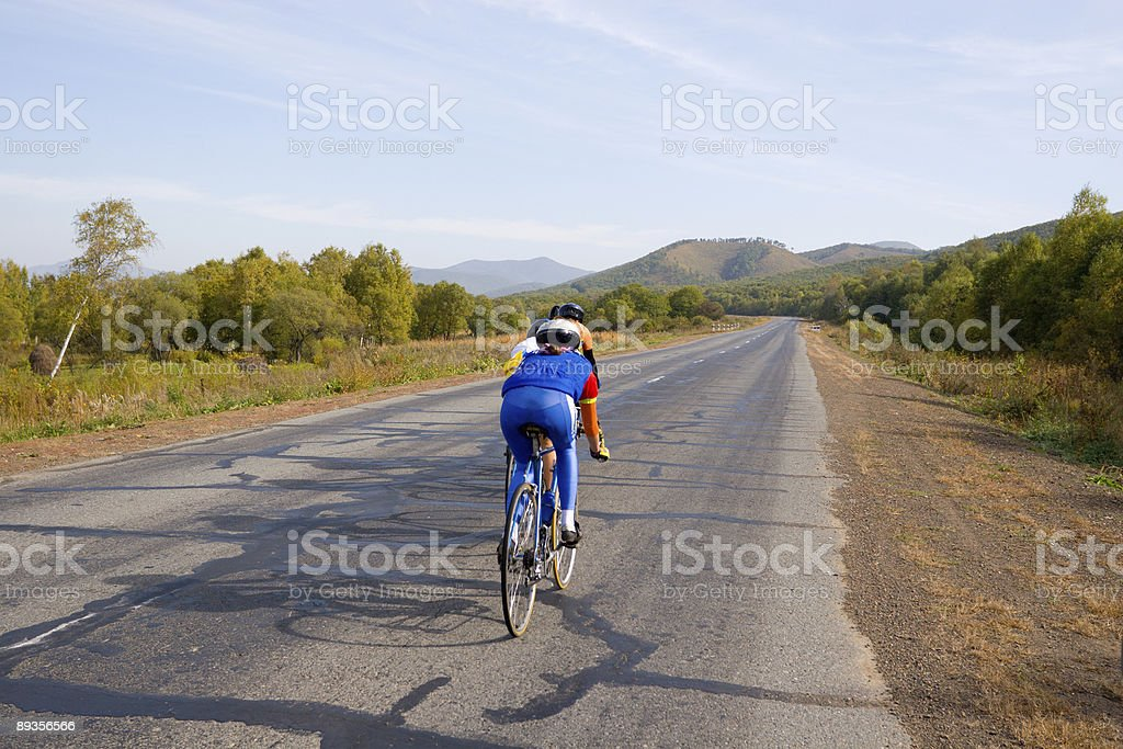 cycle racing royalty-free stock photo