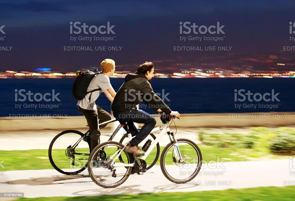 Cycling Arbitrary stock photo
