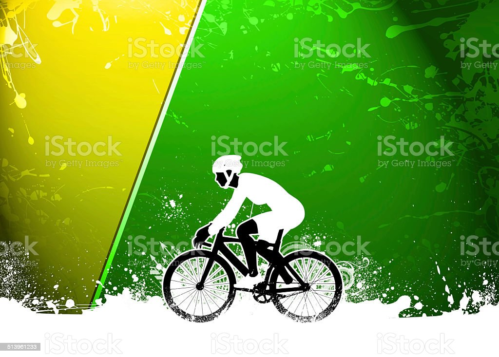 Cycling background stock photo