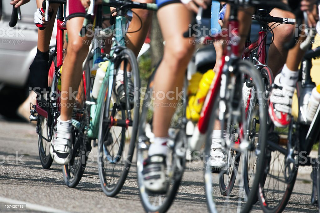 Cycling. Color Image stock photo