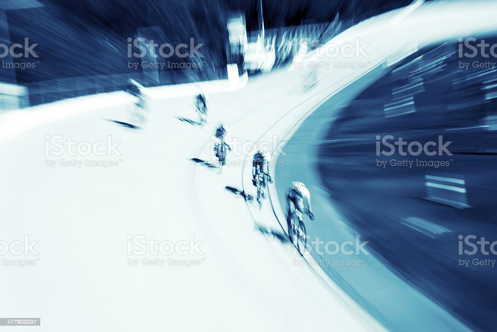 Cycling competition royalty-free stock photo