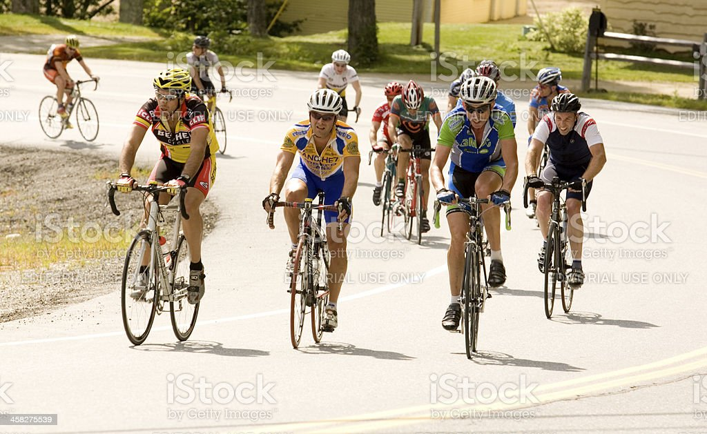 Cycling Competitors stock photo
