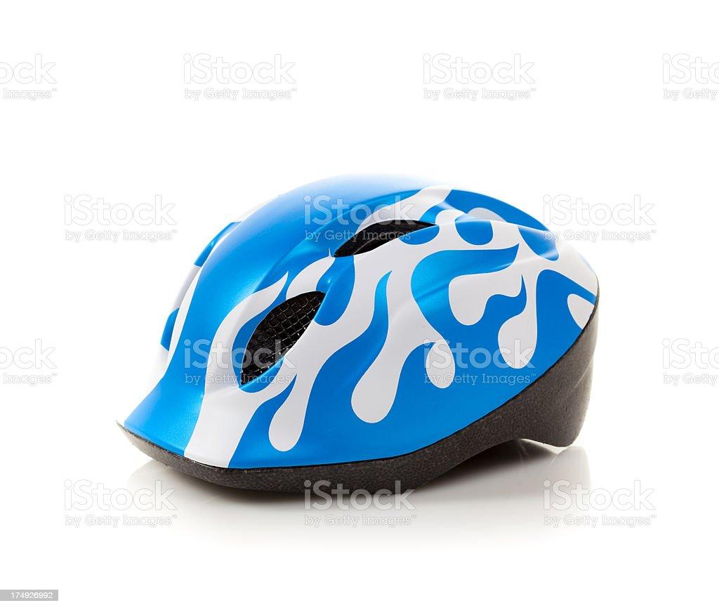Cycling helmet stock photo