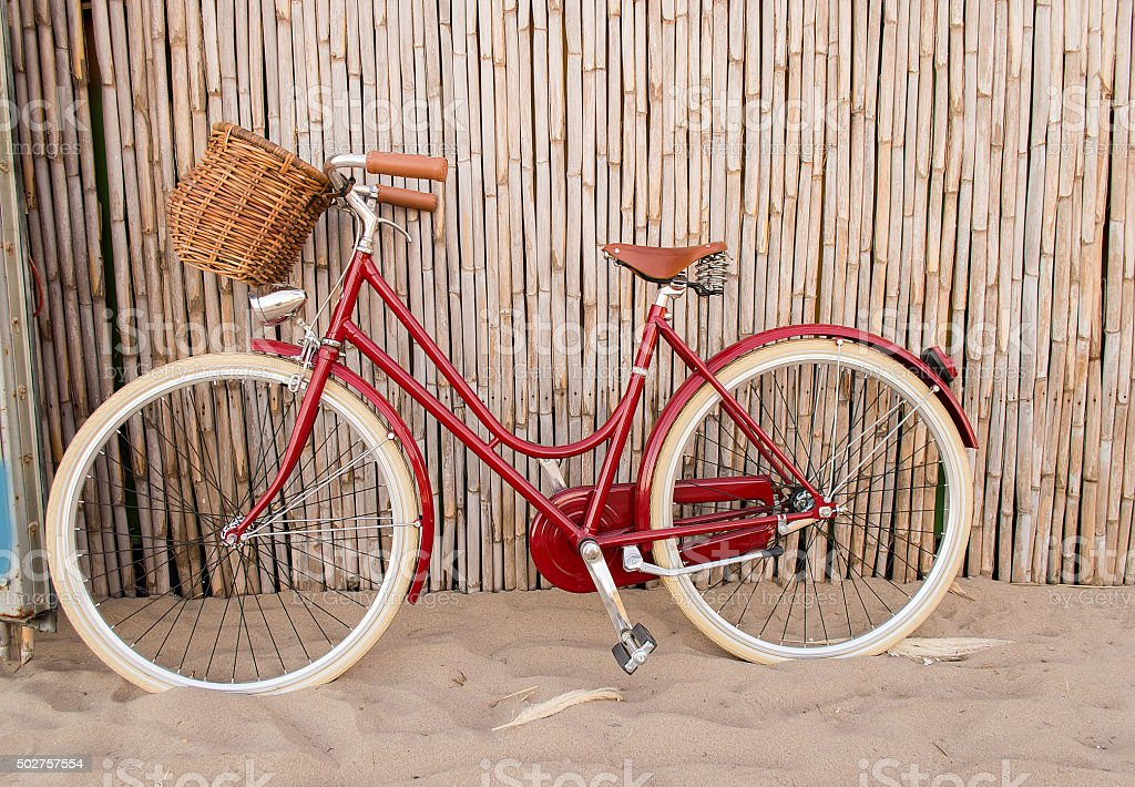 cycling in summer stock photo