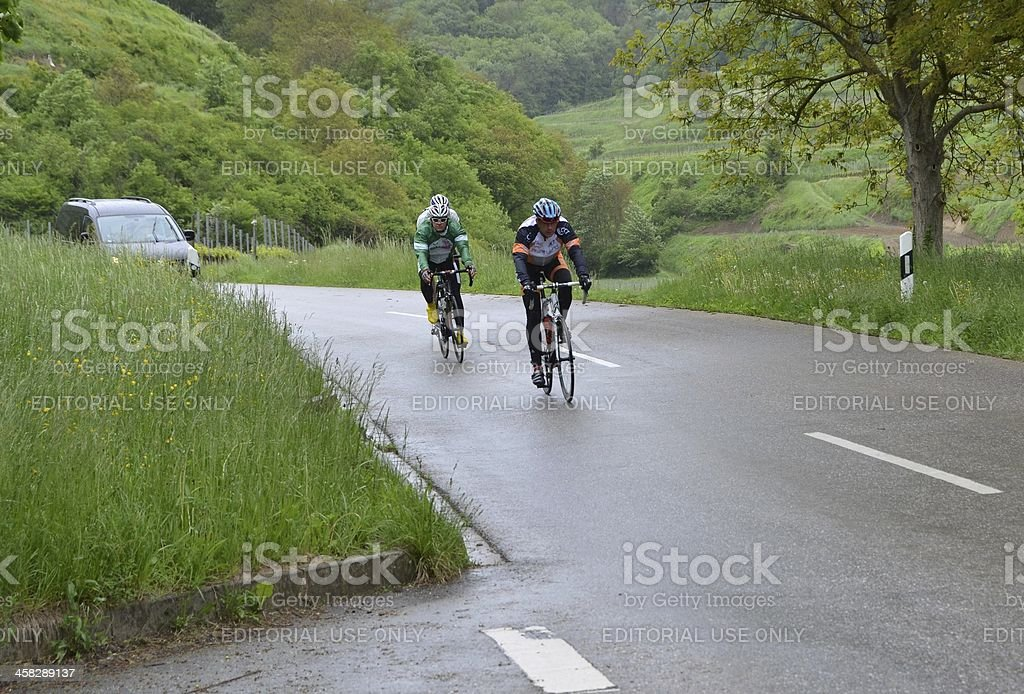 cycling Kaiserstuhl royalty-free stock photo