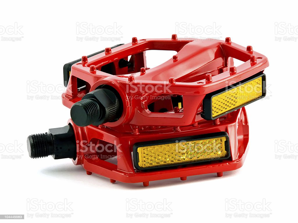 cycling pedals royalty-free stock photo