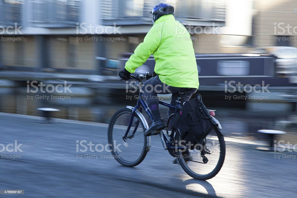 Cycling stock photo