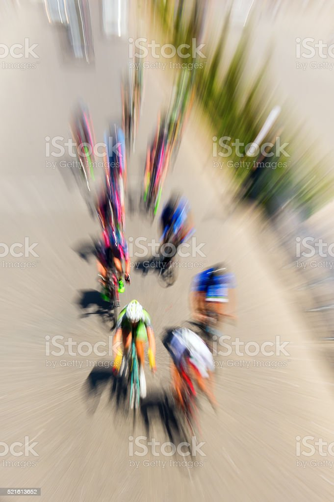 Cycling Race stock photo