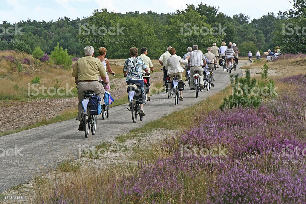 Cycling tour # 4 royalty-free stock photo