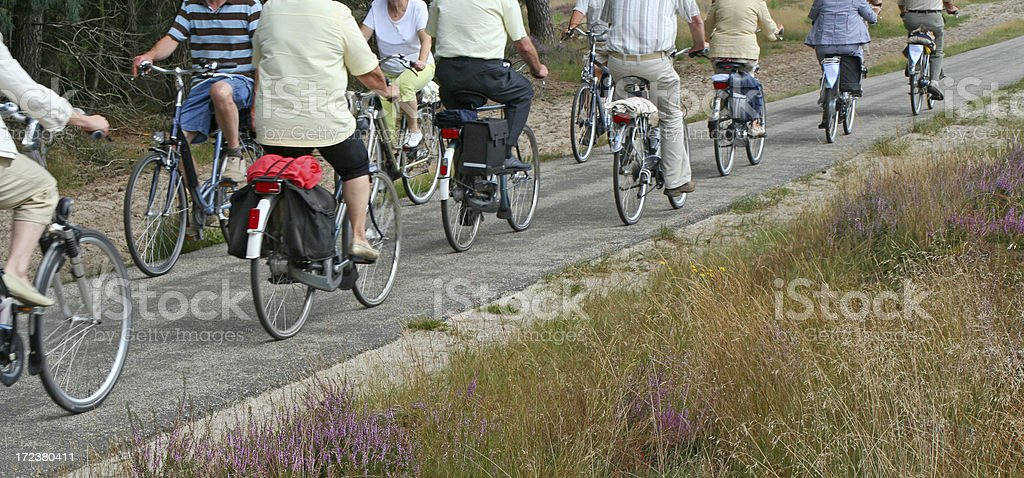 Cycling tour # 6 royalty-free stock photo