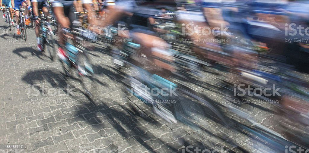 Cycling Tour royalty-free stock photo