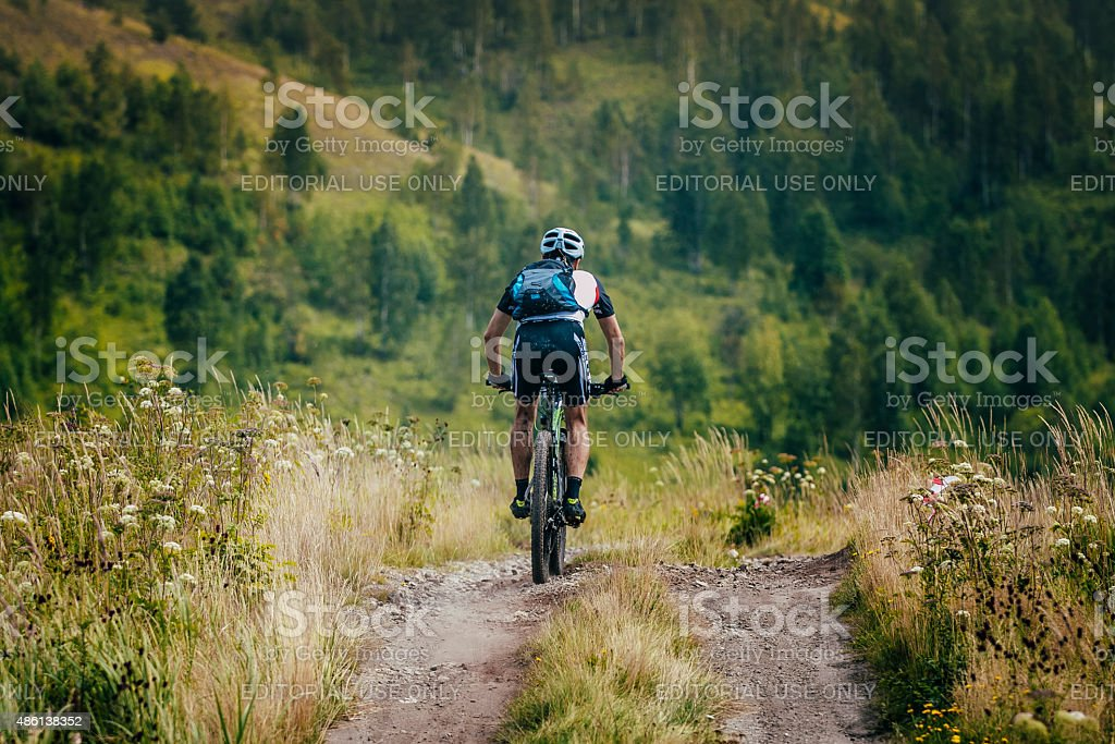 cyclist! royalty-free 스톡 사진
