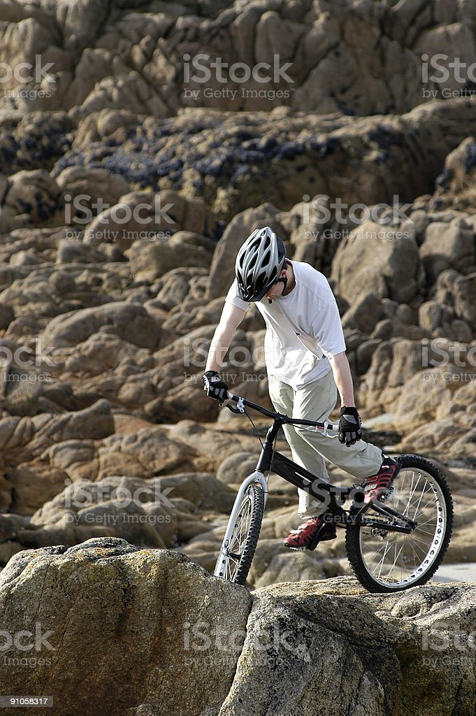 cycliste royalty-free stock photo