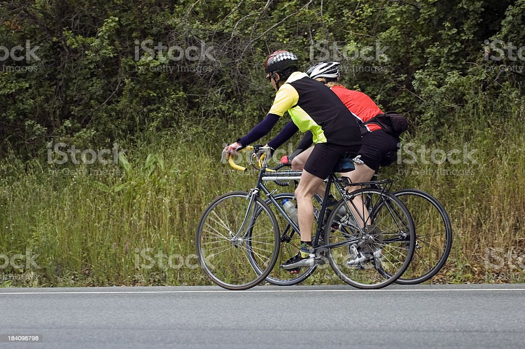 Ciclisti foto stock royalty-free